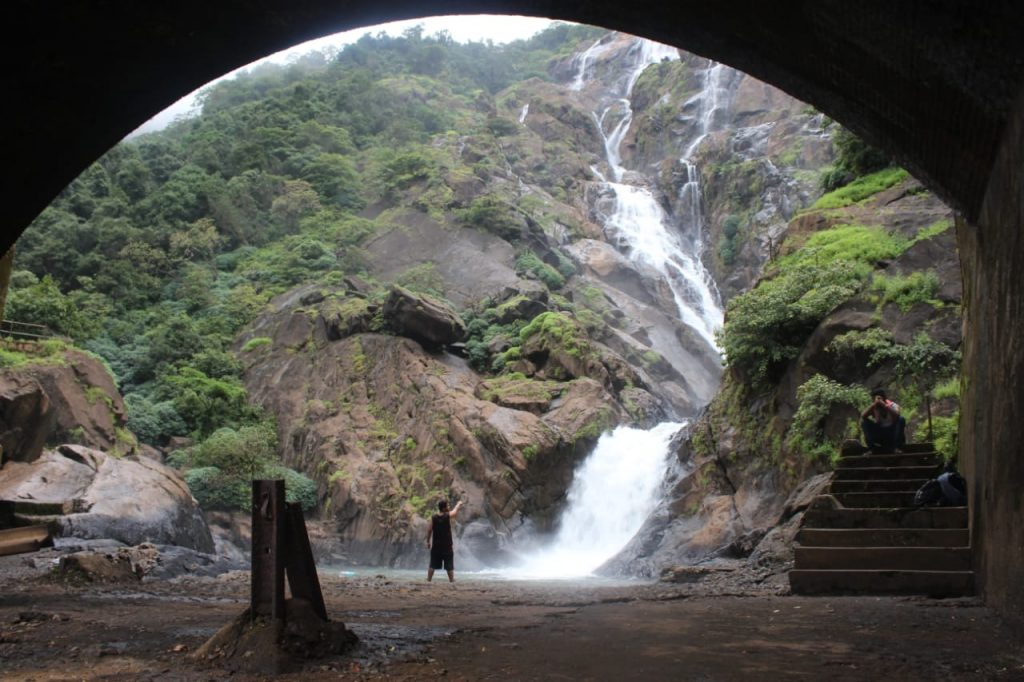 Dudhsagar bridge