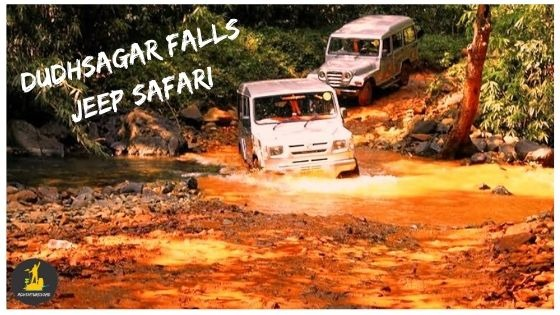 Dudhsagar falls jeep booking