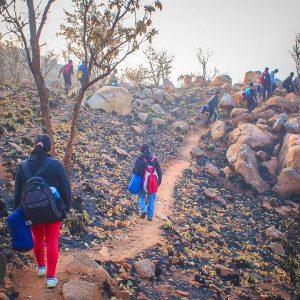 Makalidurga hill trek