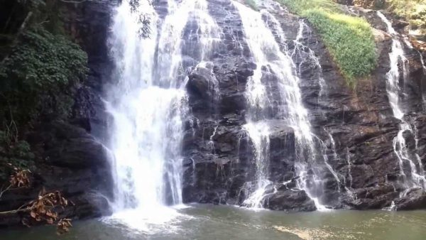 waterfall in Coorg