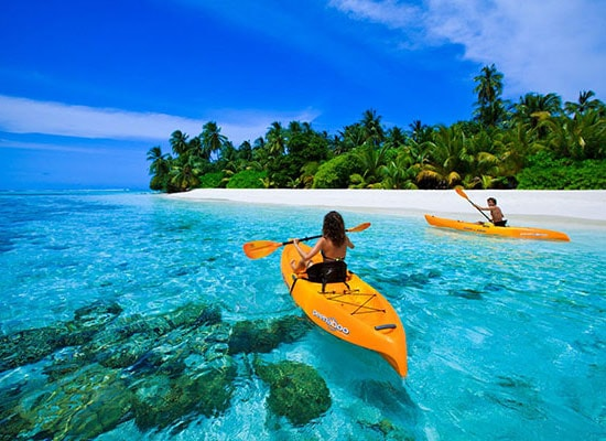 Canoeing in Bentota