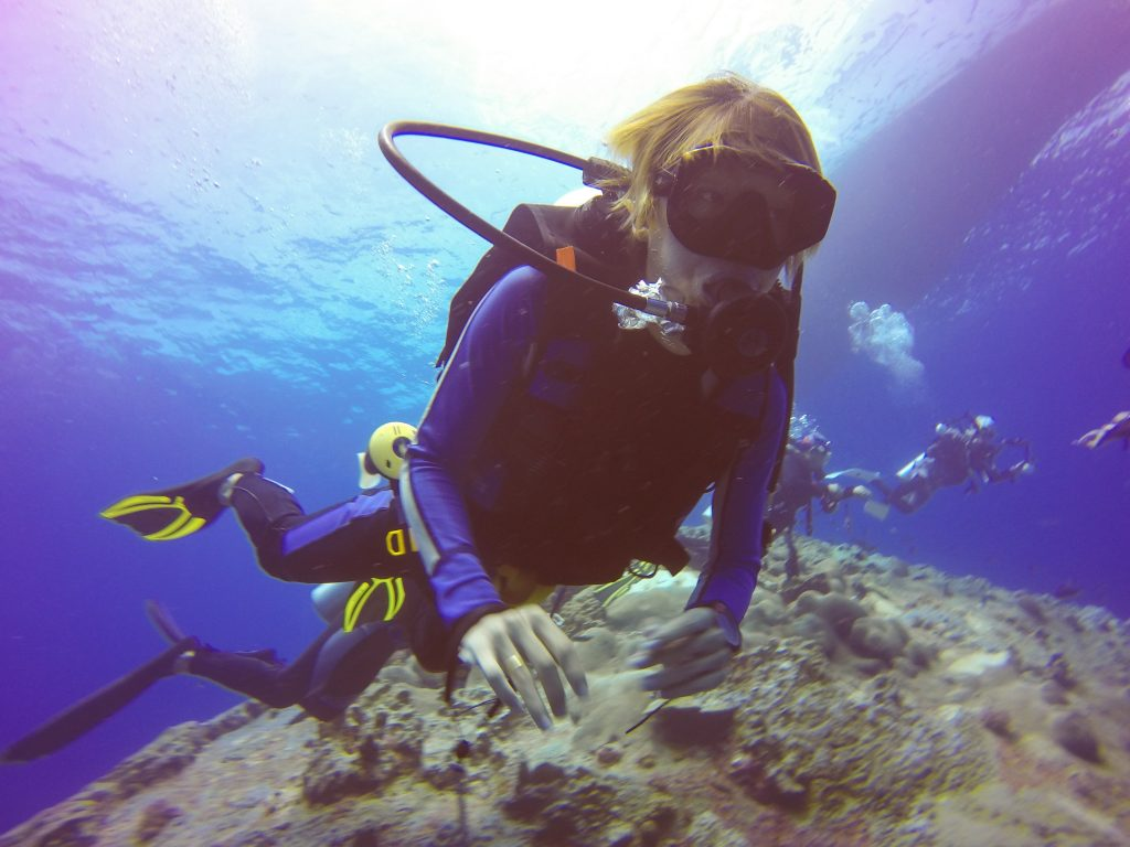 Experiencing Scuba Diving in Andamans