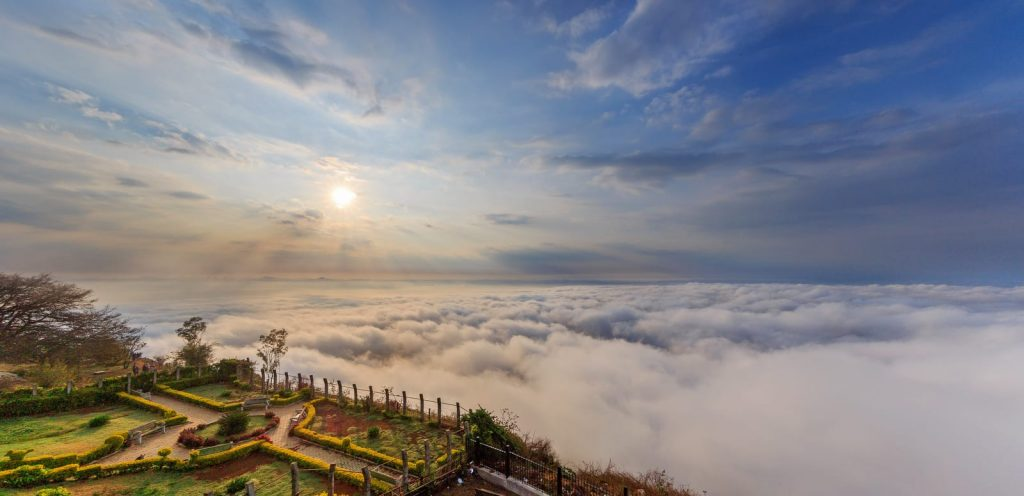 NANDI HILLS​, best place for one day trip from Bangalore