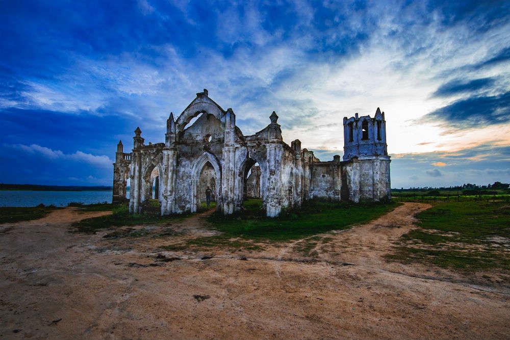 Shettihalli church, Hassan, beautiful place to visit near Bangalore