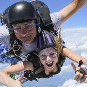 Skydiving – Tandem