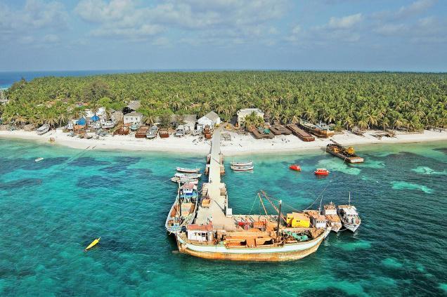 Islands in Lakshadweep