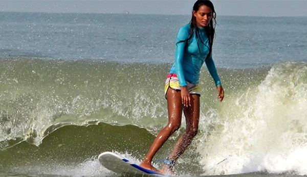 india's first women to surf