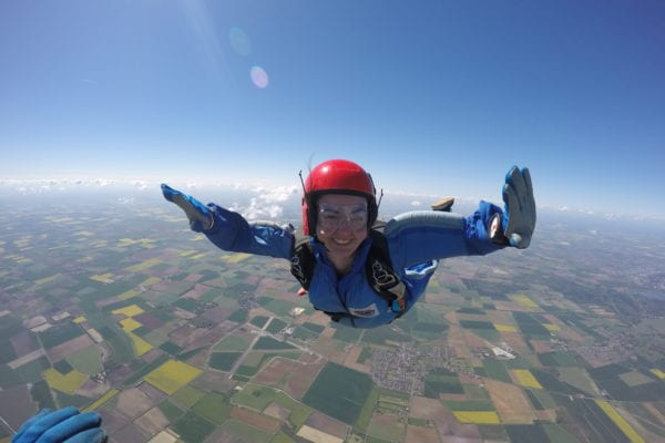 static line skydiving in India