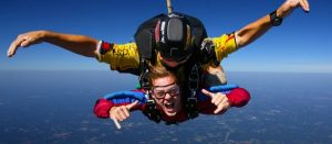 What does it feel like to Skydive?