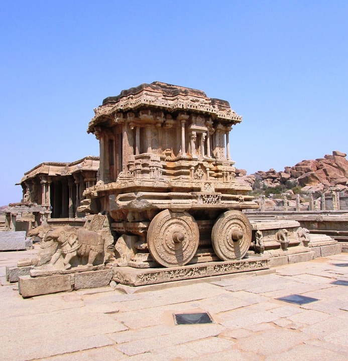 Vijaya Vitthala Temple tourist attraction in Hampi