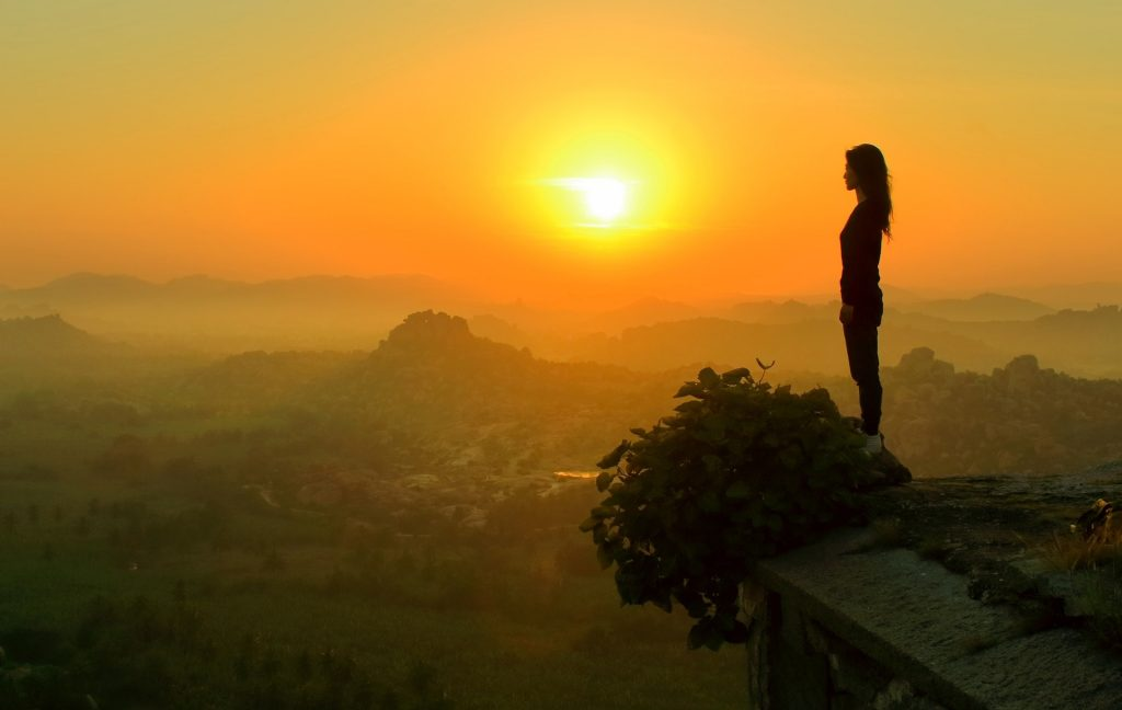 Watching the sunrise is one of the splendid things to do in Hampi