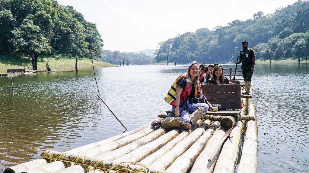 Bamboo Rafting In Thekkady
