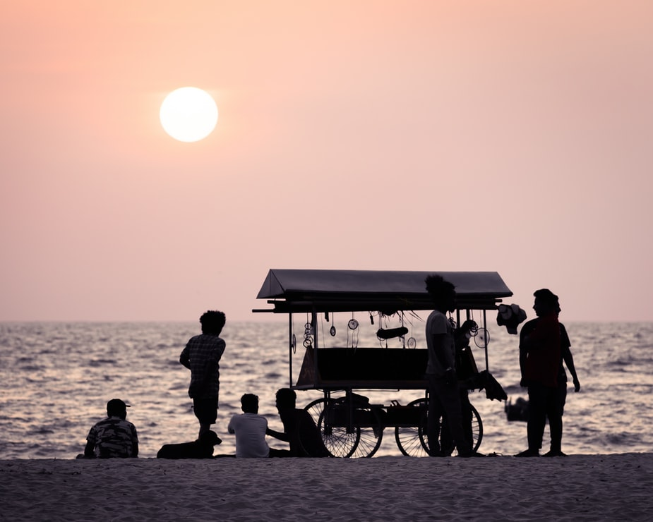 Beaches are one of the best places to visit in Alleppey