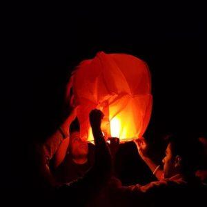 Halloween Camping