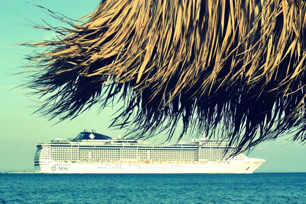 Privately run Lakshadweep cruise