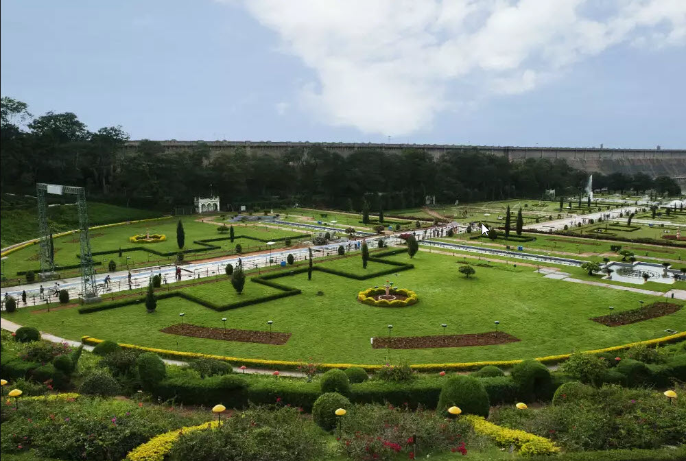 Bridavan Gardens is one of the best places to visit in Mysore