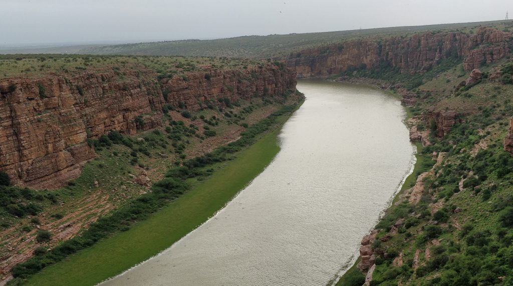 Penna river, Gandikota fort