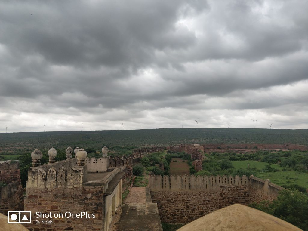 View from the top of Gandikota fort