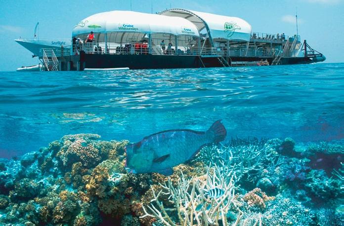 ReefWorld, Australia is one the best underwater hotels