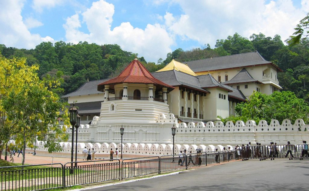 You add the temple of the Tooth to your things to do in Kandy it is a holy place