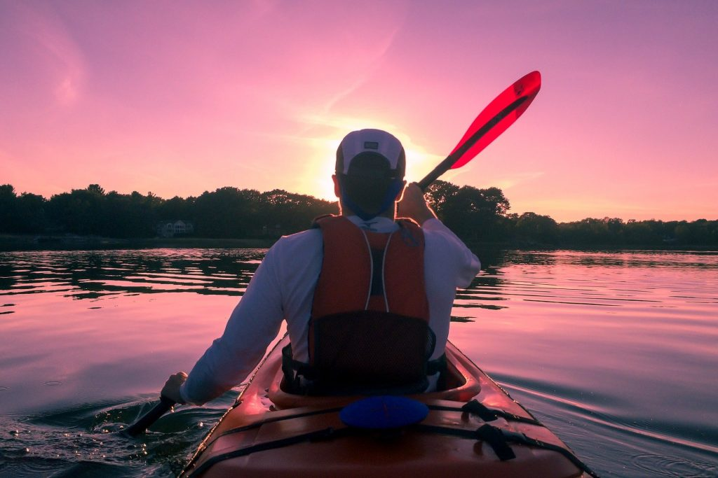 How to become a pro in Kayaking