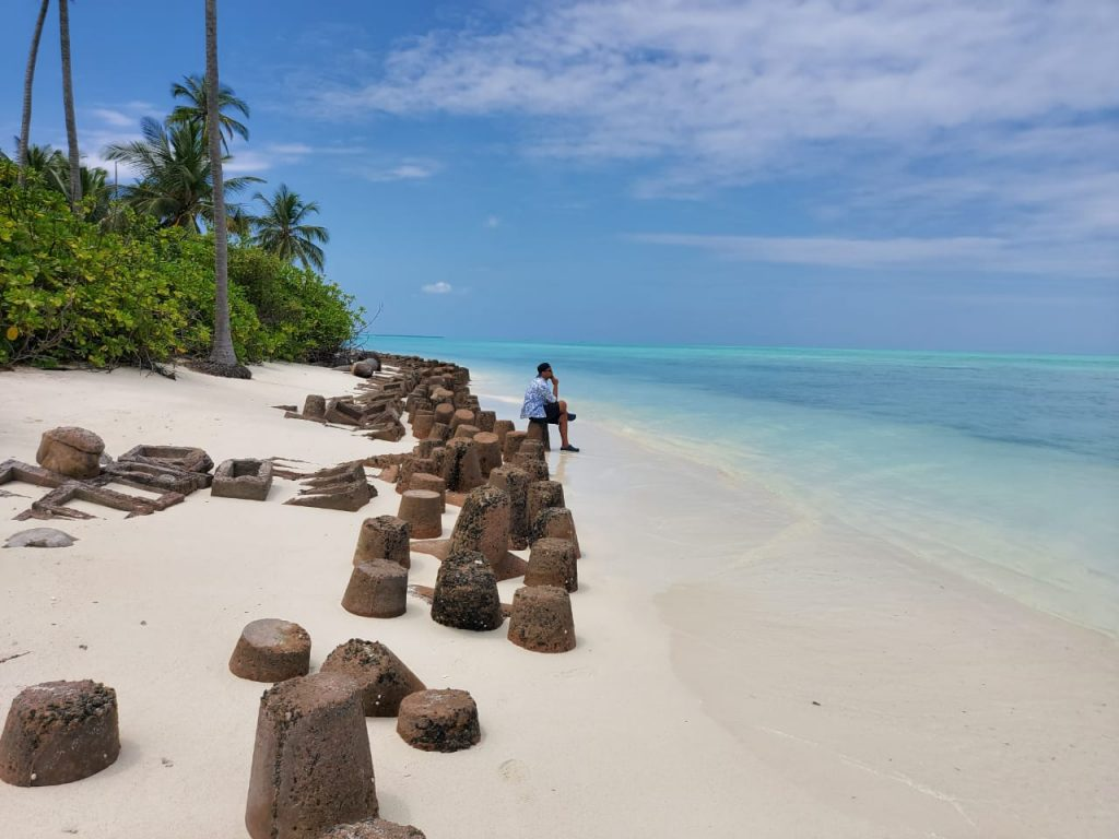 Bangaram is one the most beautiful isalnds in Lakshadweep