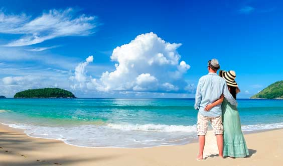 Andaman is one of the most romantic honeymoon places in India