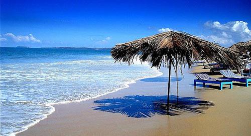 Beach in Daman and Diu