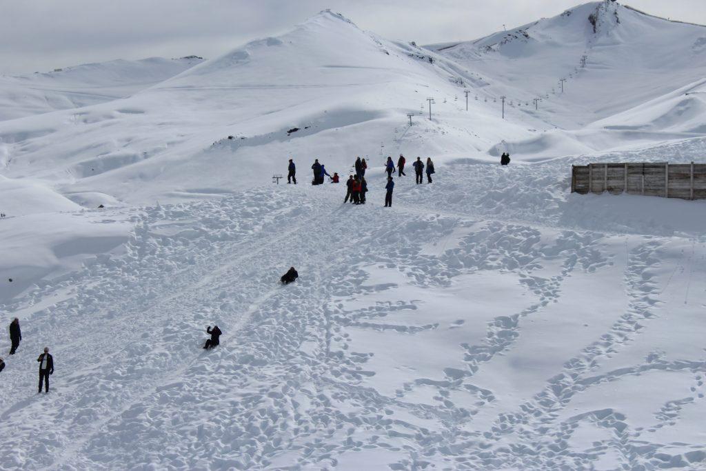 Gulmarg skiing adventuresome