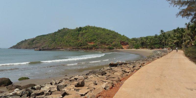 Belekan Beach starting Point of Gokarna Beach Trek