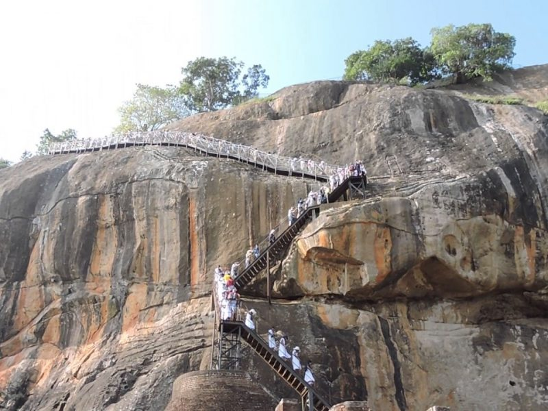 Climbing the Sigiriya is a really exciting thing to do in Sril Lanka